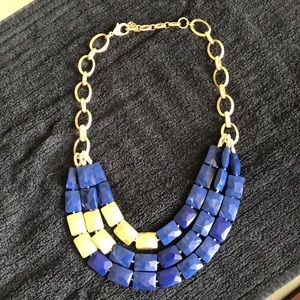 Necklace-blue and good